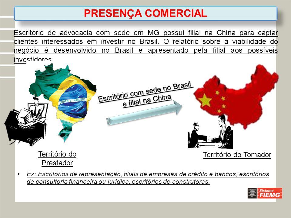 PRESENÇA COMERCIAL
