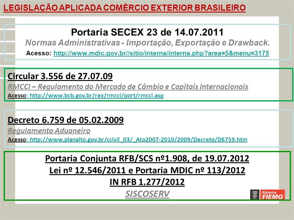 Portaria Conjunta RFB/SCS nº1.908, de 19.07.2012