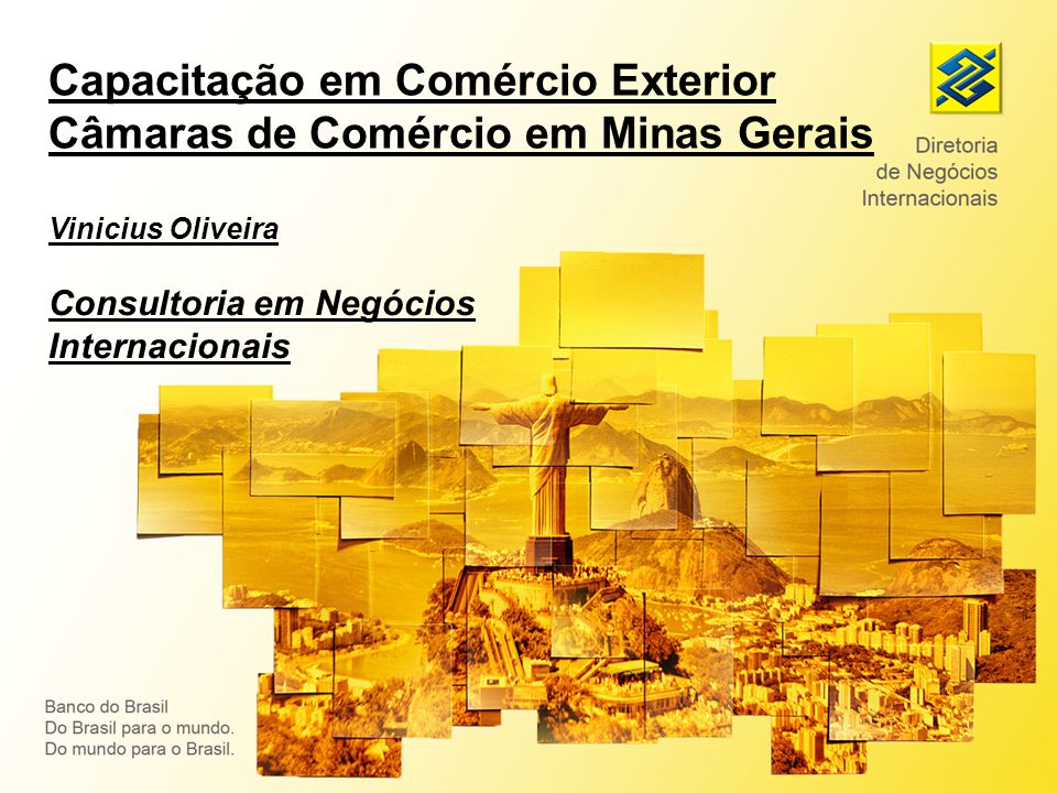 Capacitação em Comércio Exterior Câmaras de Comércio em Minas Gerais