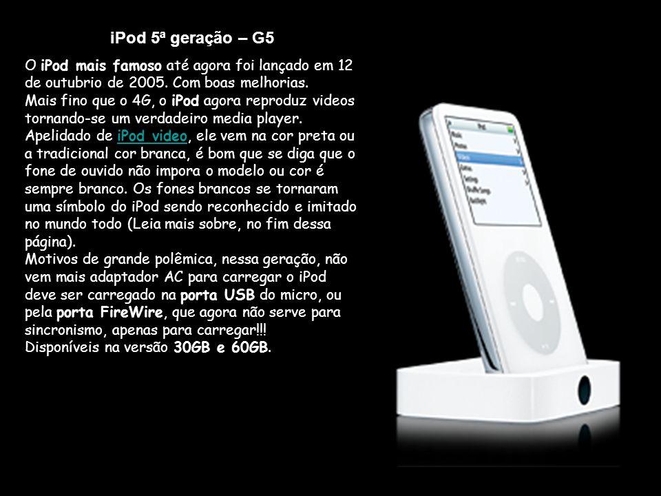iPod 5ª geração – G5