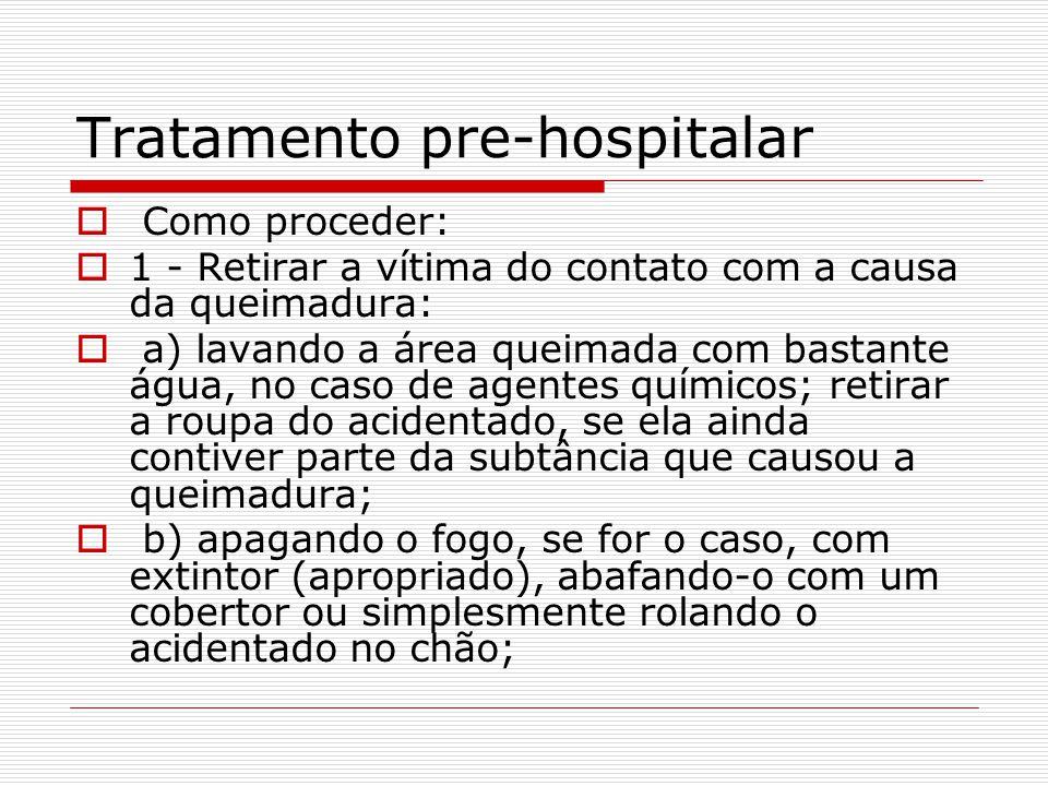 Tratamento pre-hospitalar