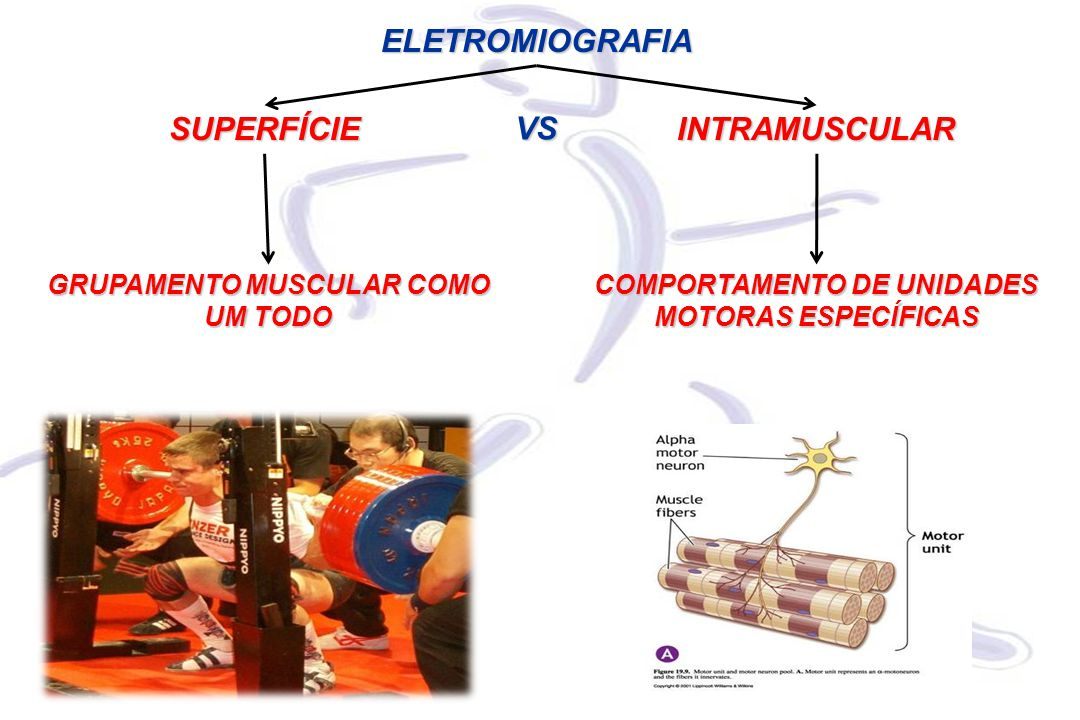 ELETROMIOGRAFIA SUPERFÍCIE VS INTRAMUSCULAR