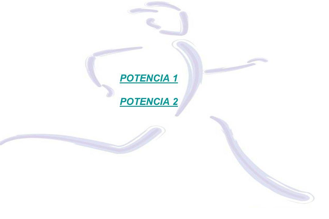 POTENCIA 1 POTENCIA 2