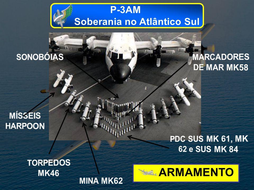 ARMAMENTO P-3AM Soberania no Atlântico Sul SONOBÓIAS