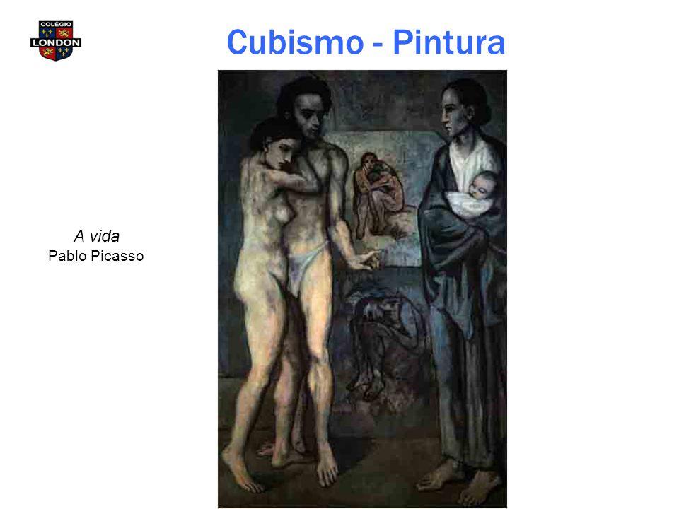Cubismo - Pintura A vida Pablo Picasso