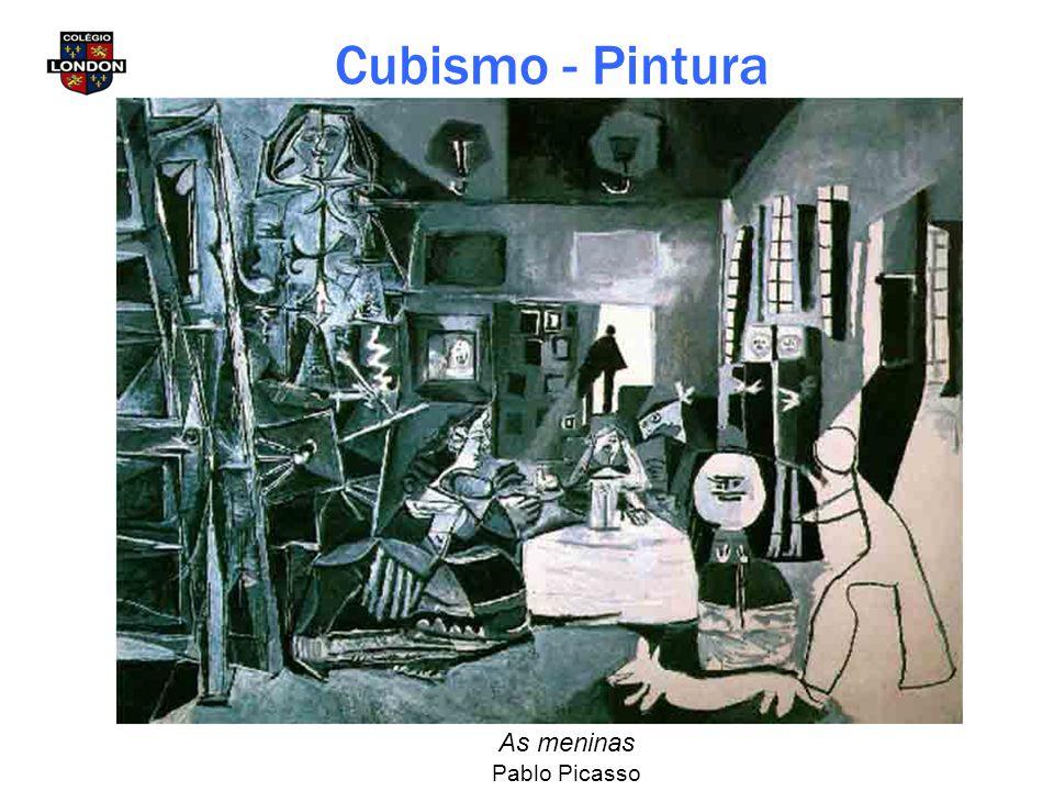 Cubismo - Pintura As meninas Pablo Picasso