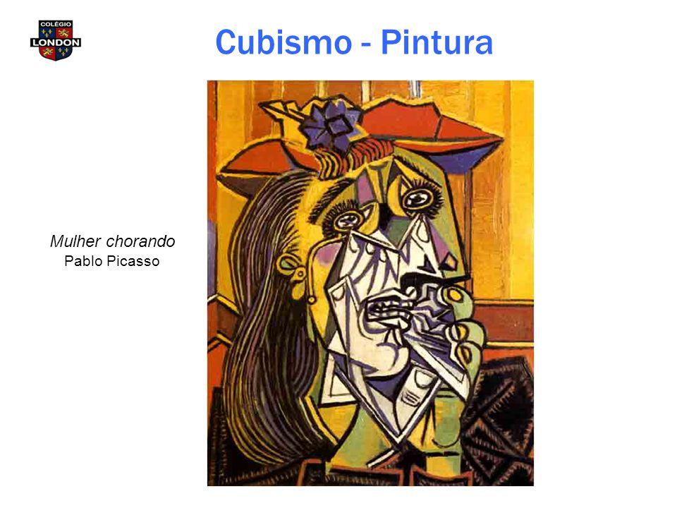 Cubismo - Pintura Mulher chorando Pablo Picasso