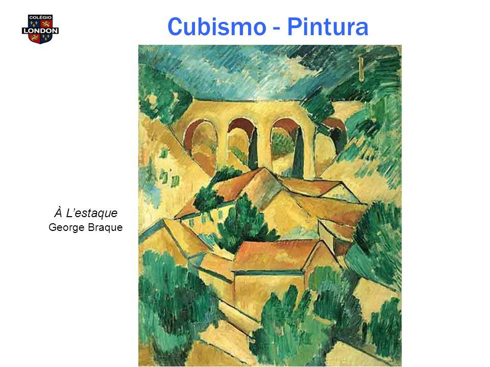 Cubismo - Pintura À L'estaque George Braque