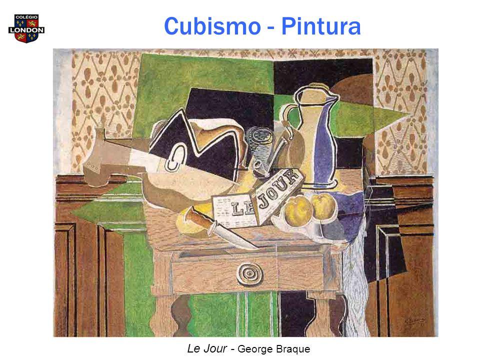 Cubismo - Pintura Le Jour - George Braque