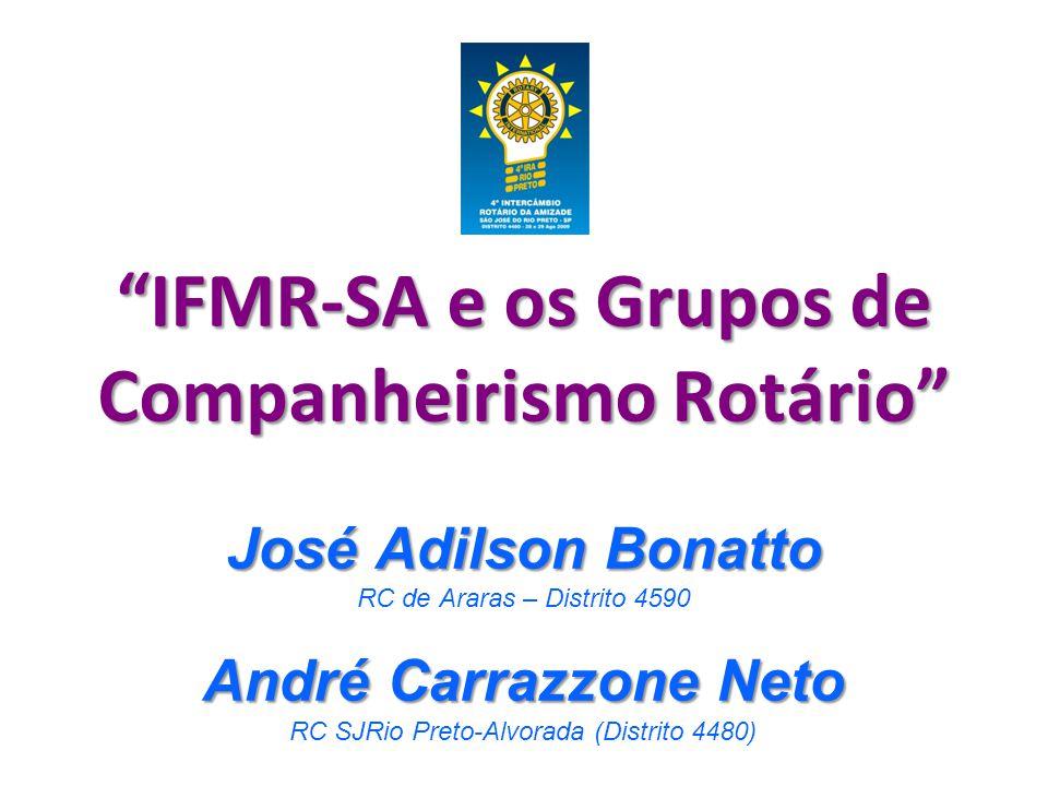 IFMR-SA e os Grupos de Companheirismo Rotário