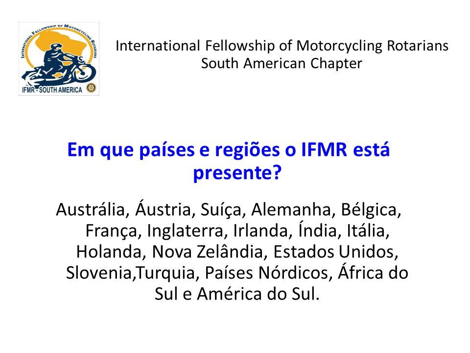 Em que países e regiões o IFMR está presente