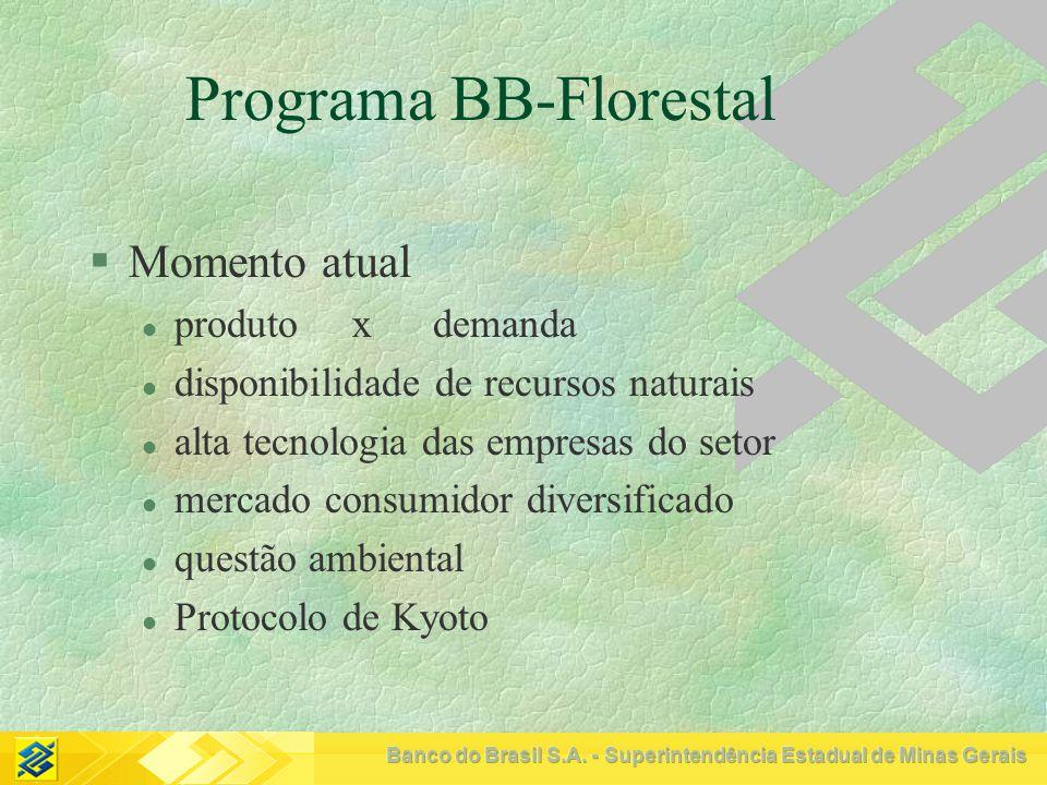 Programa BB-Florestal