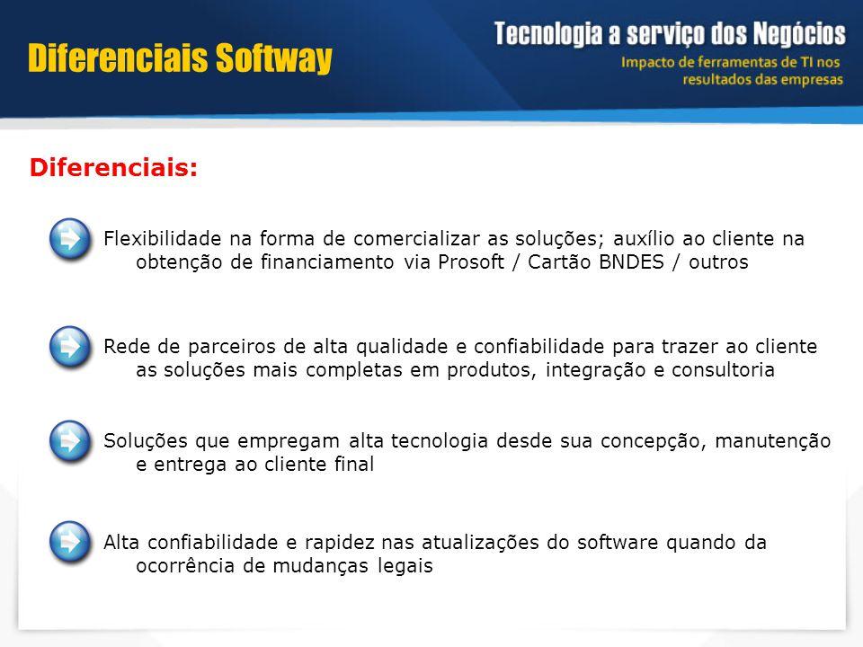 Diferenciais Softway Diferenciais: