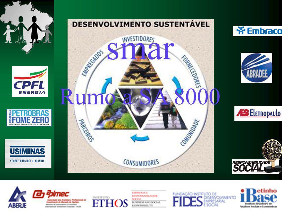smar Rumo a SA 8000