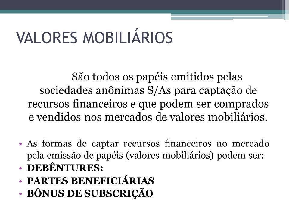 VALORES MOBILIÁRIOS