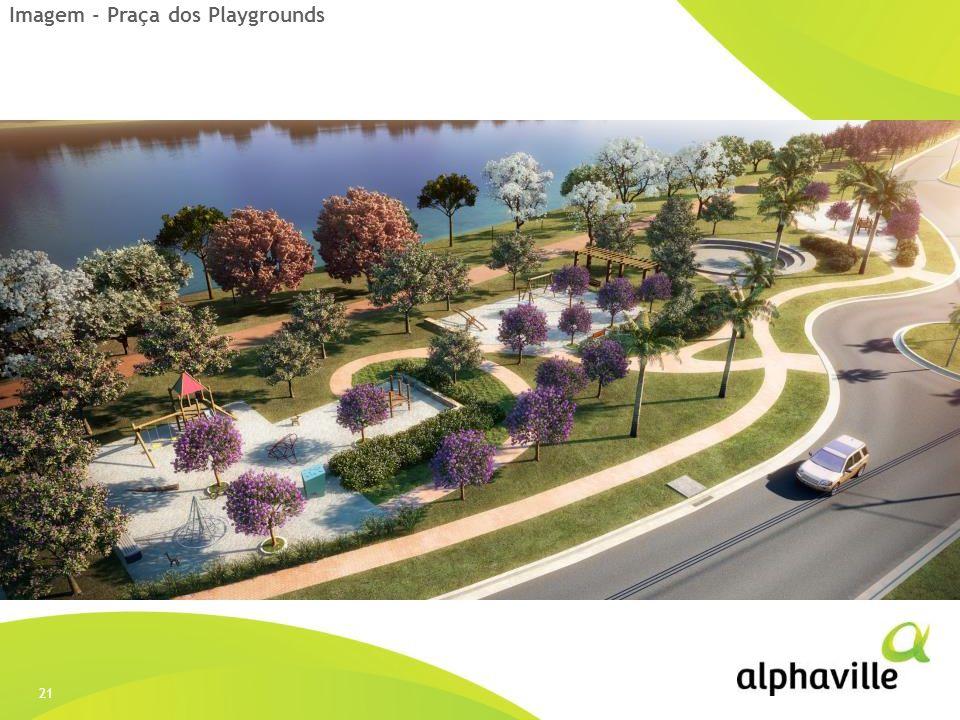 Imagem - Praça dos Playgrounds