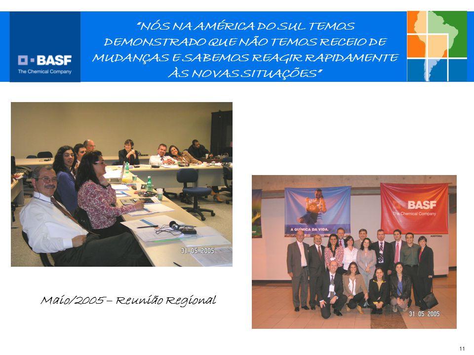 Maio/2005 – Reunião Regional