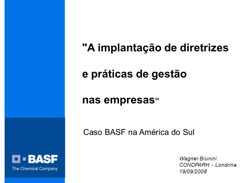Caso BASF na América do Sul