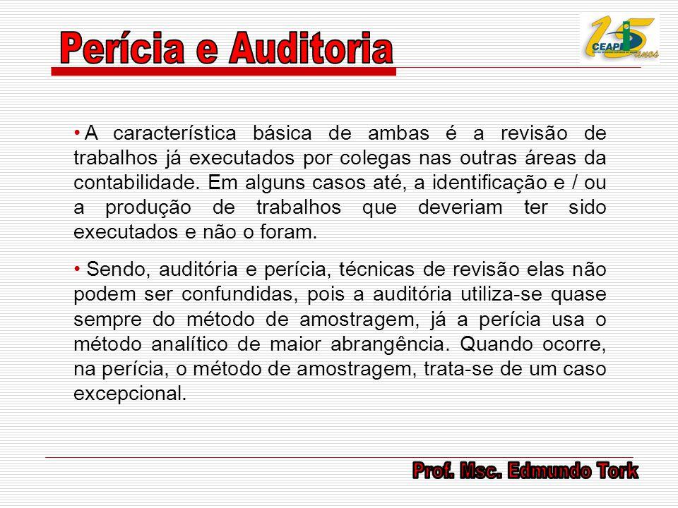 Perícia e Auditoria