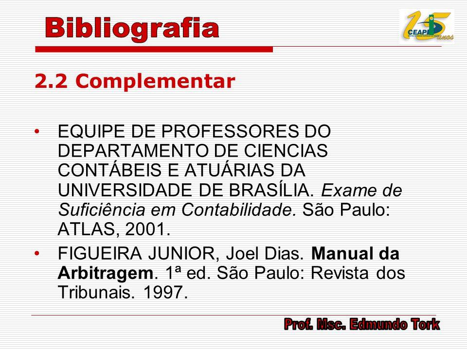 Bibliografia 2.2 Complementar