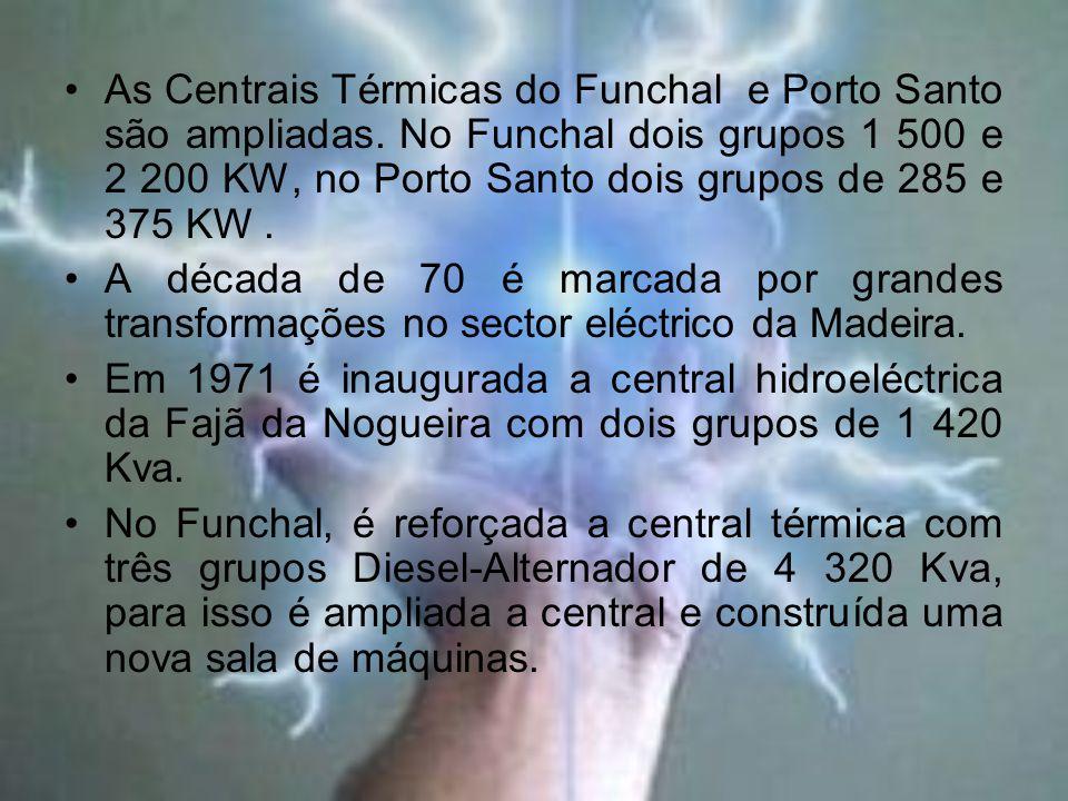 As Centrais Térmicas do Funchal e Porto Santo são ampliadas