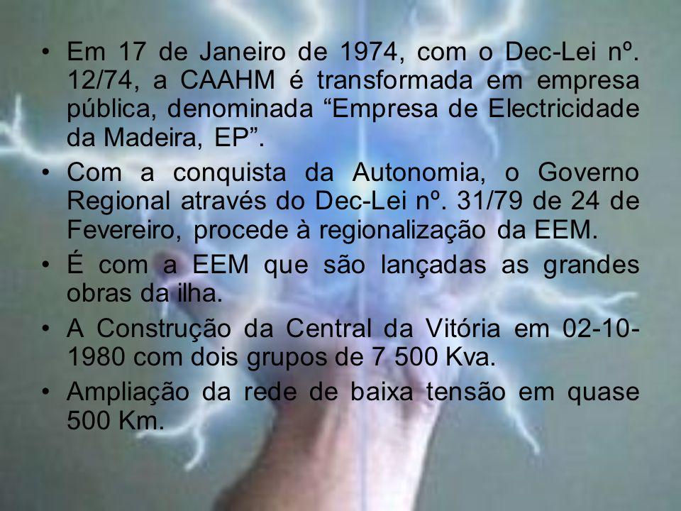 Em 17 de Janeiro de 1974, com o Dec-Lei nº