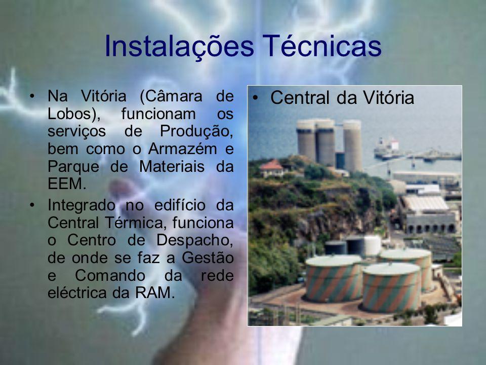 Instalações Técnicas Central da Vitória