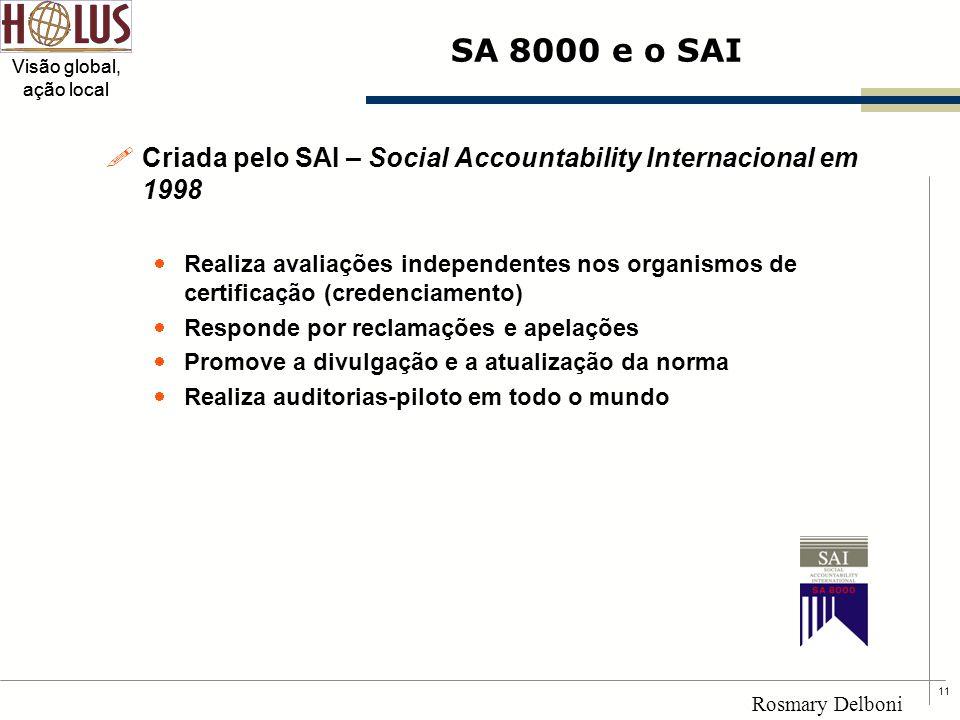 Criada pelo SAI – Social Accountability Internacional em 1998