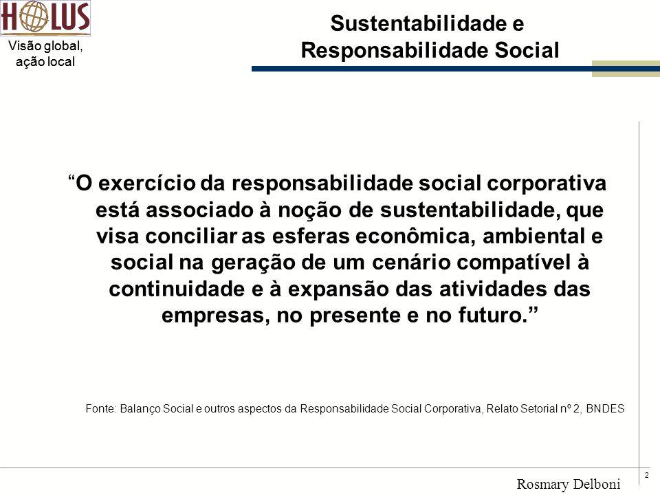 Sustentabilidade e Responsabilidade Social