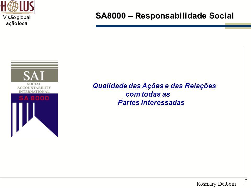 SA8000 – Responsabilidade Social