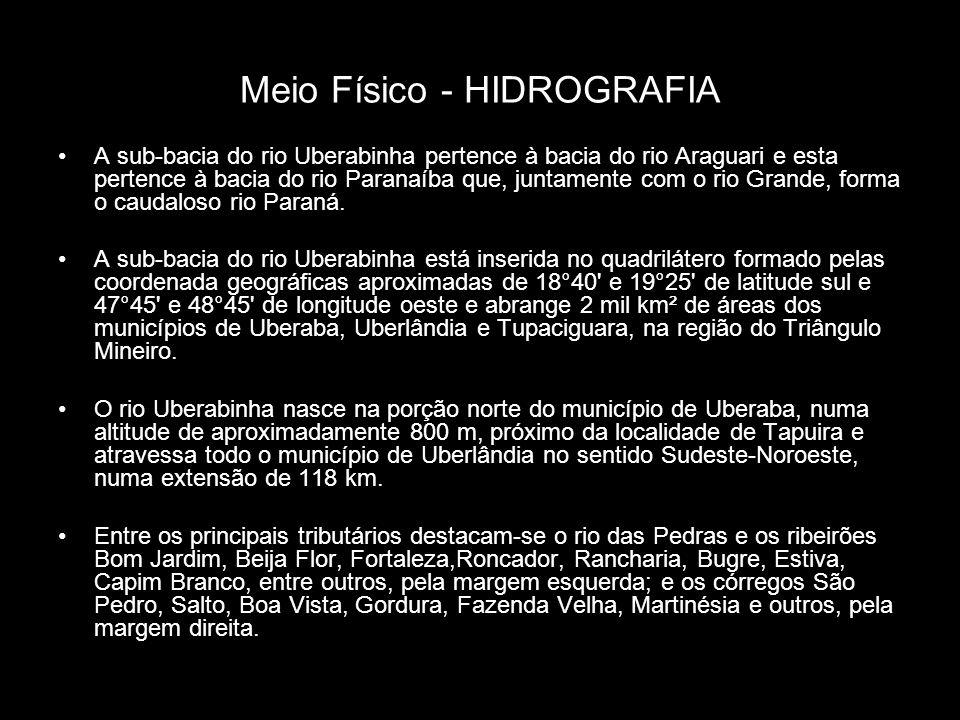 Meio Físico - HIDROGRAFIA