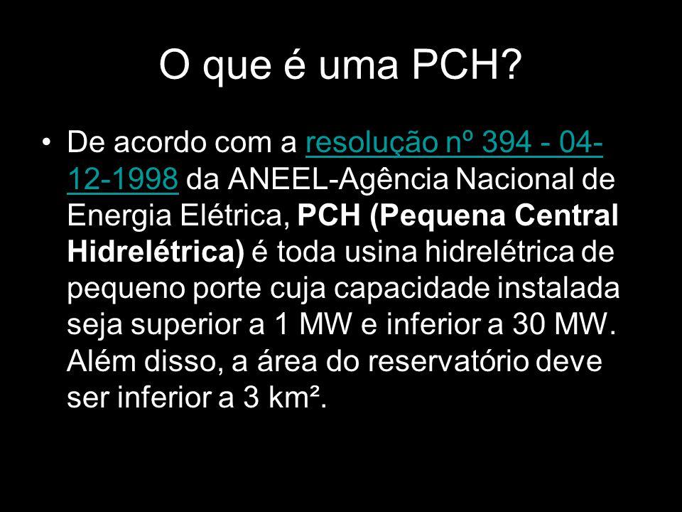 O que é uma PCH