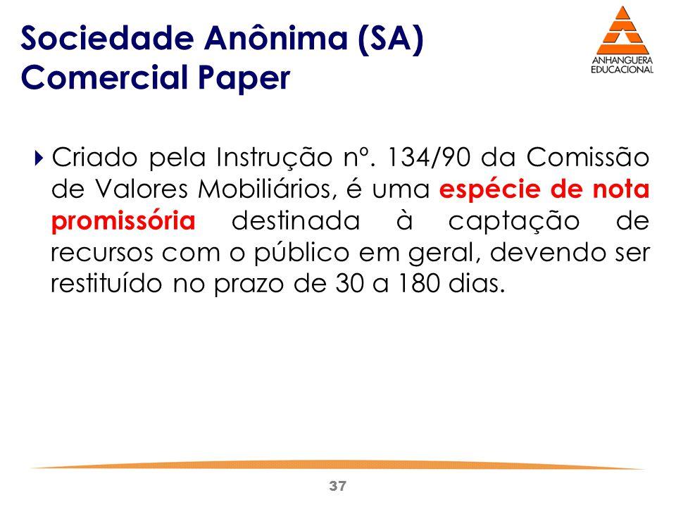 Sociedade Anônima (SA) Comercial Paper