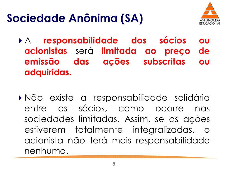 Sociedade Anônima (SA)