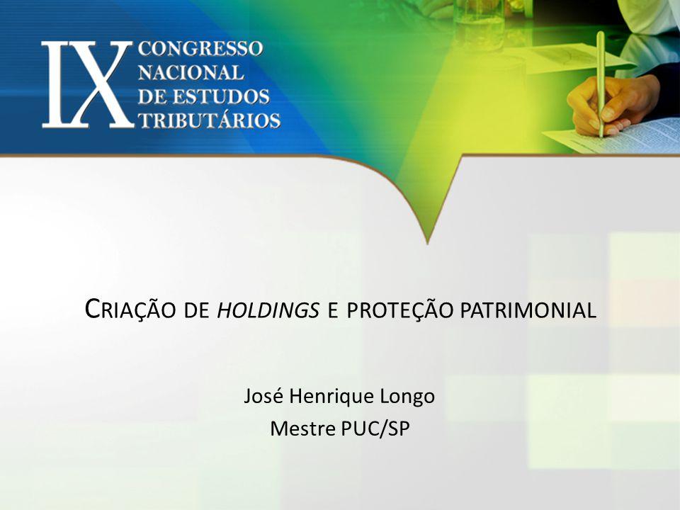 Criação de holdings e proteção patrimonial