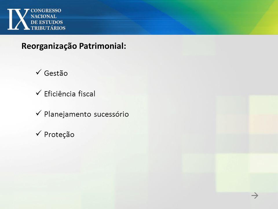 Reorganização Patrimonial: