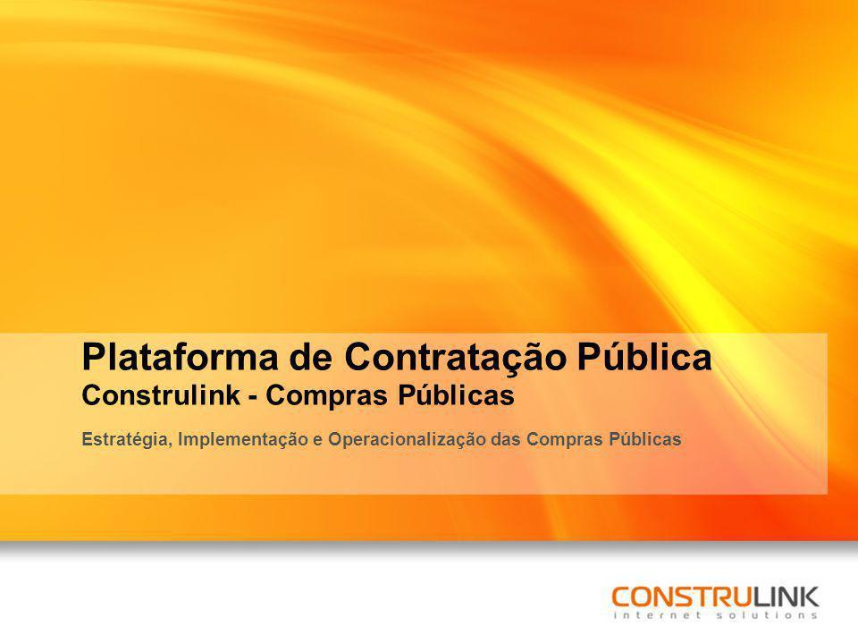 Plataforma de Contratação Pública Construlink - Compras Públicas