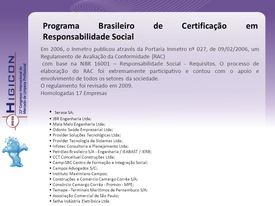 Programa Brasileiro de Certificação em Responsabilidade Social