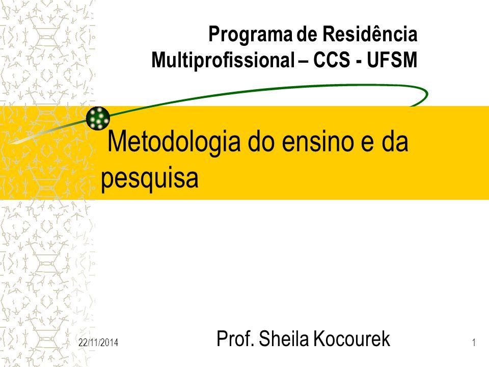 Metodologia do ensino e da pesquisa