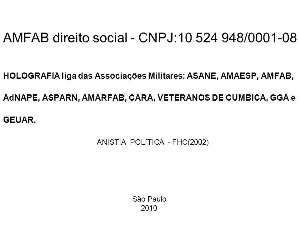 AMFAB direito social - CNPJ:10 524 948/0001-08
