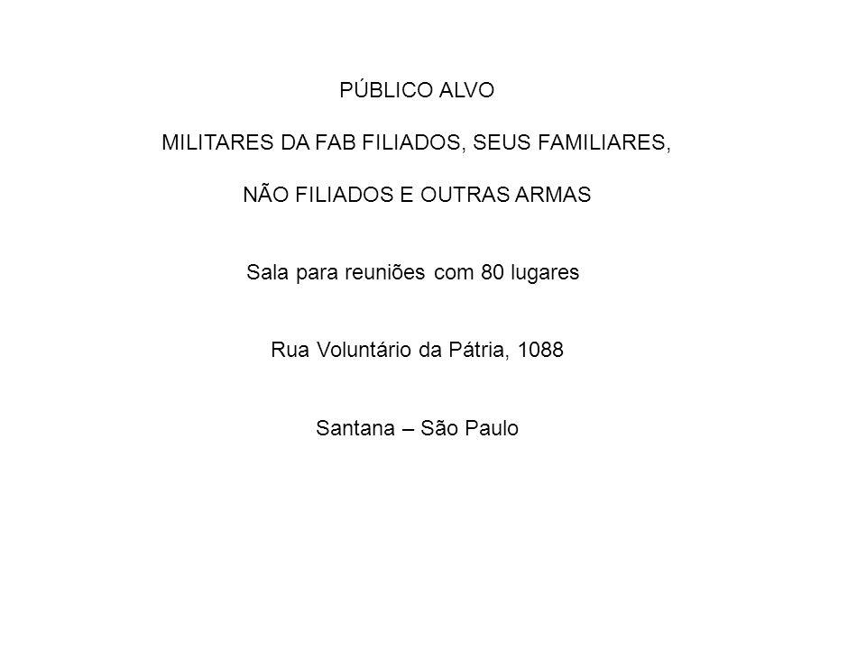MILITARES DA FAB FILIADOS, SEUS FAMILIARES,