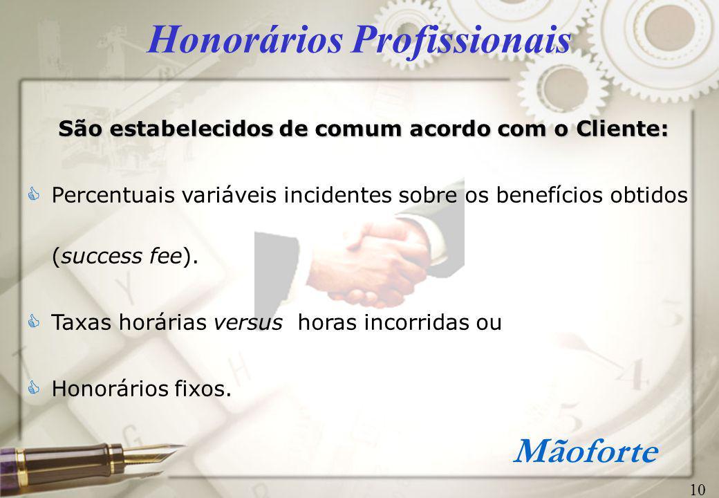 Honorários Profissionais
