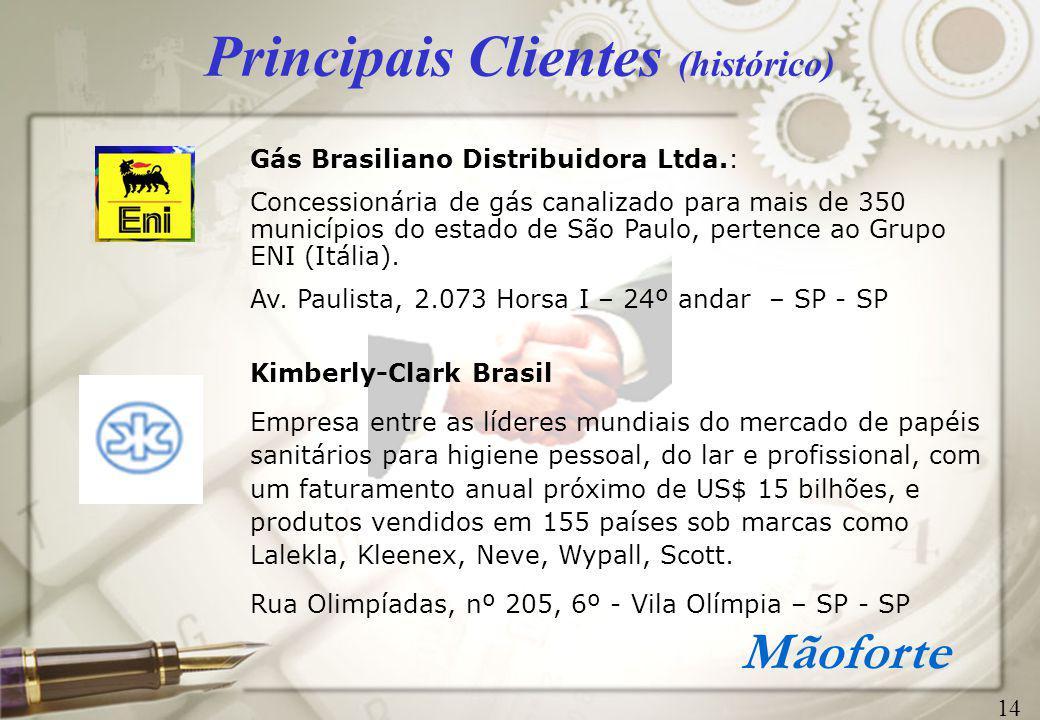 Principais Clientes (histórico)