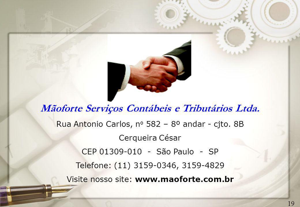 Mãoforte Serviços Contábeis e Tributários Ltda.