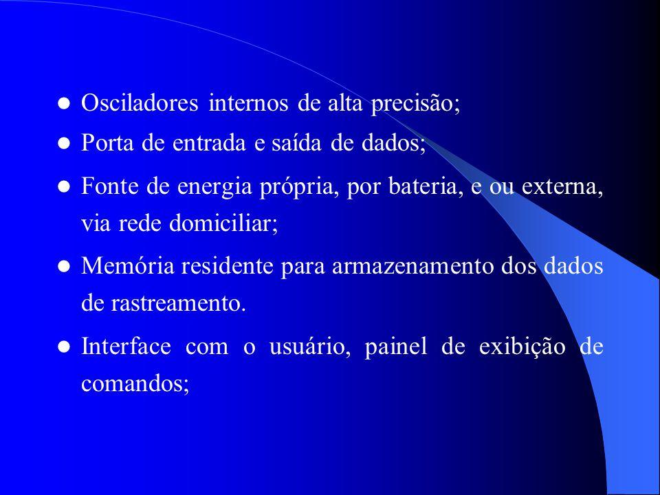 Osciladores internos de alta precisão;