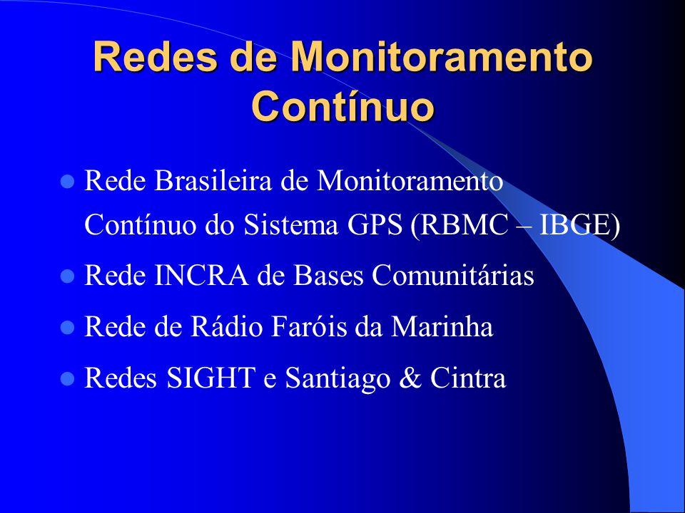 Redes de Monitoramento Contínuo