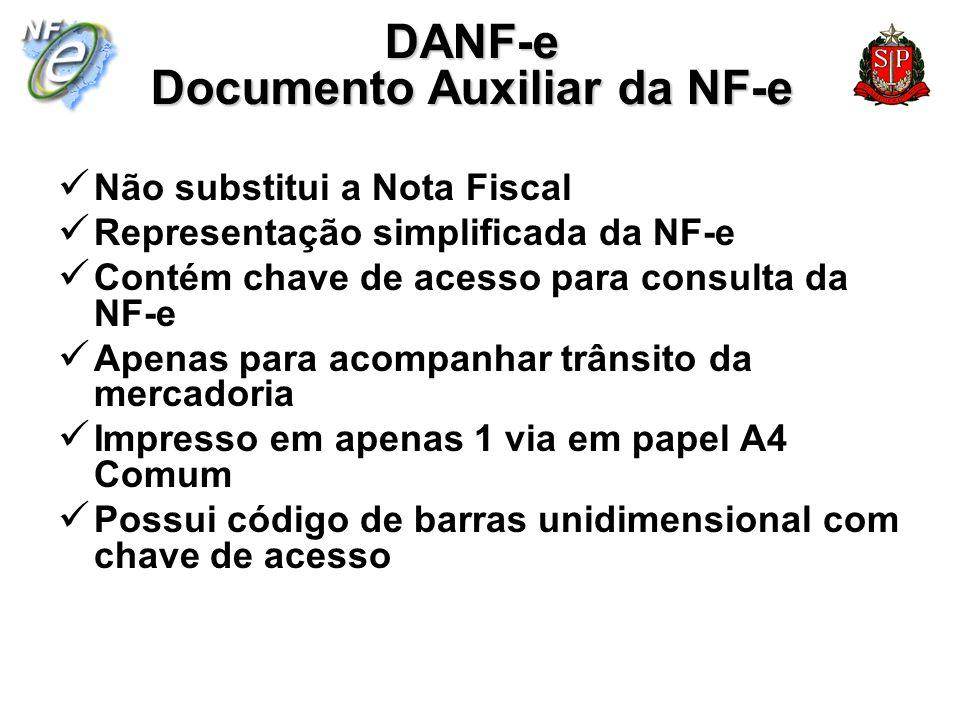 DANF-e Documento Auxiliar da NF-e