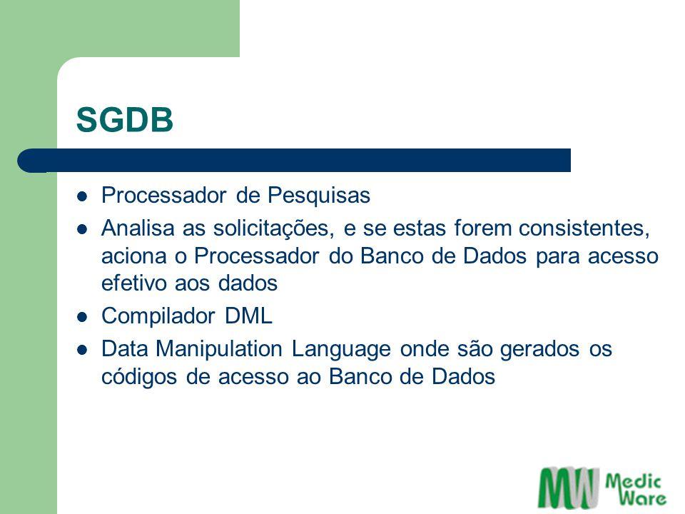 SGDB Processador de Pesquisas