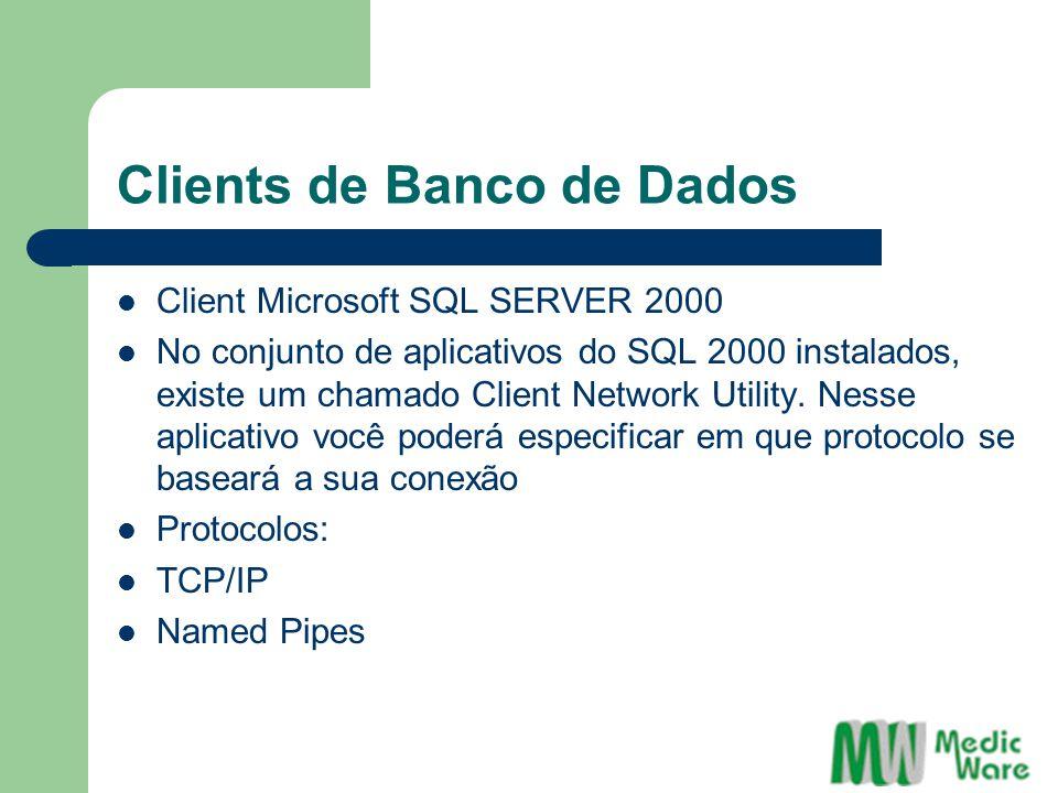 Clients de Banco de Dados