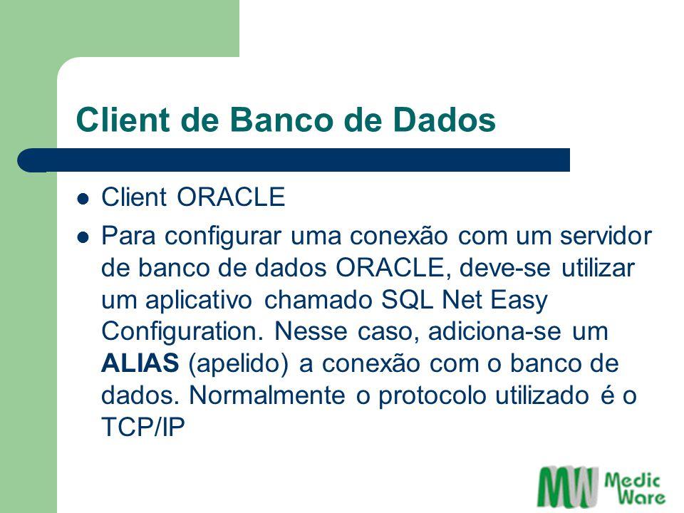 Client de Banco de Dados